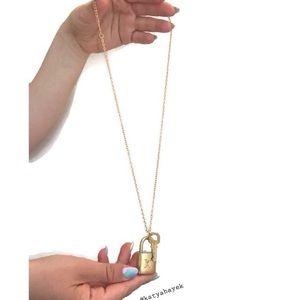 Louis Vuitton Padlock Necklace